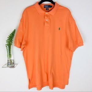 Polo Ralph Lauren Orange Casual Collared Shirt (L)